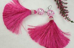 kolczyki Pink