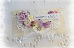 Kopertówka ślubna z fioletem #2