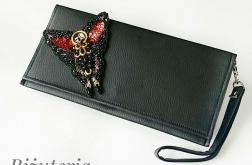 Czarna Kopertowka Butterfly