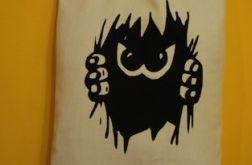 Materiałowa, nietuzinkowa torba na zakupy