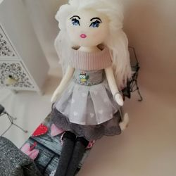 Maileg doll, dla dziewczynki, bawełniana lala