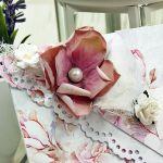Kartka z okazji ślubu-różana delikatność