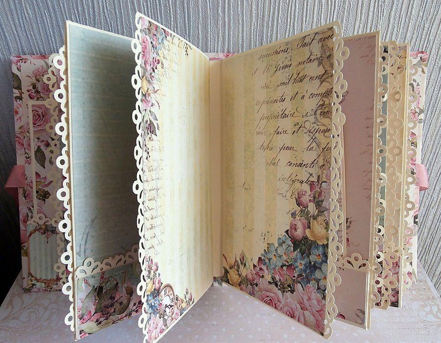 Album w pudełku - Strony w środku