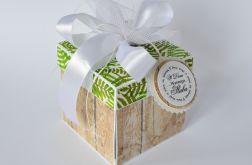 Pudełko na ślub Drewno i paprocie