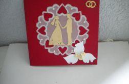 Para ślubna - kartka okazjonalna