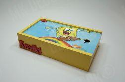 Pudełko na kredki lub pisaki SpongeBob Kanciastoporty