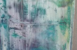 Obraz abstrakcja pastelowa 50x80
