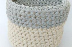 Koszyk 26x22cm sznurek bawełniany