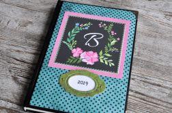 Kalendarz książkowy A5 - układ dzienny nr23