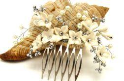 Gałązka-ozdoba ślubna do włosów 1