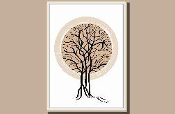 """""""Drzewo"""" grafika autorska"""