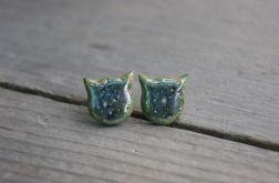 Kolczyki księżycowe kotki