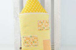 Poduszka dekoracyjna wałek 30x55cm - Domek C