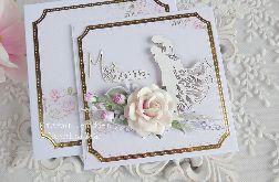 Ślubna kartka w pudełku 260