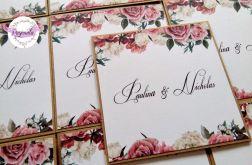 Zaproszenia ślubne flowers # 5