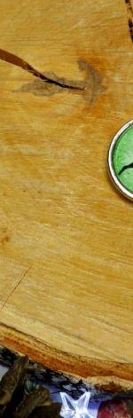 Wisiorek Renifer zielony