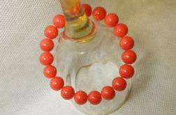 3.Bransoletka ze szklanych koralików 10mm