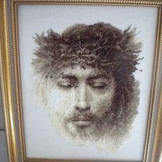 Jezus - obraz haftowany