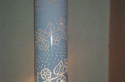 """lampa  stołowa """"Kwiaty"""""""