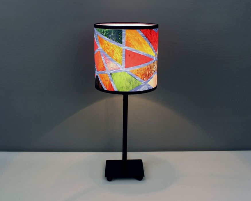 Kolorowa lampa stojąca nIEZAMKNIĘTY kOLOR S
