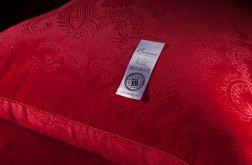 ekskluzywna pościel aksamitna Emma 160x200 czerwona