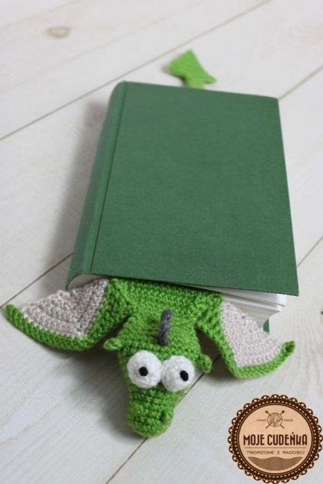 Smok - zakładka do książki -