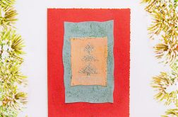 Kartka świąteczna minimalizm nr 15