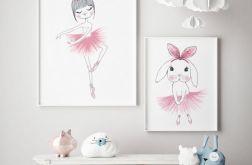 Baletnice, zestaw plakatów A4+A3