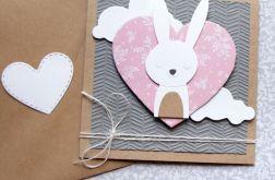 królisia Marysia- kartka na roczek, urodzinki