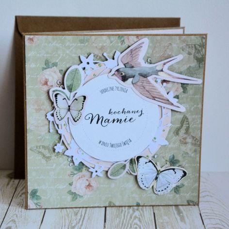 Kartka - Kochanej Mamie (1)