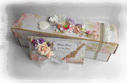 Eko pudełko i kopertówka ślubna #1
