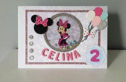 Personalizowana kartka na roczek urodziny