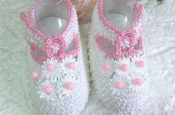 szydełkowe buciki dla księżniczki :)