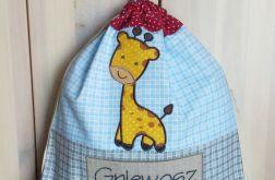 Worek na wf - Żyrafa