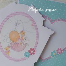 Oryginalna kartka dla dziewczynki I