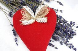 serca lawendowe czerwone