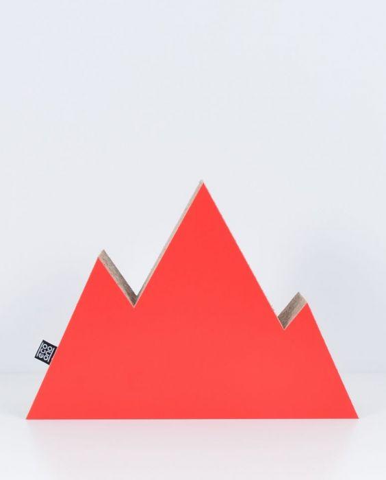 GÓRY dekoracja ecoono | czerwony
