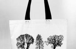 Drzewa - torba z grubej bawełny