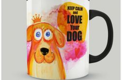Kubek Keep Calm and love Your dog