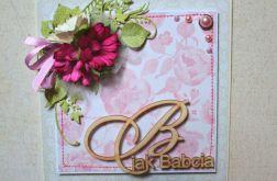 KARTKA DLA BABCI - B jak Babcia