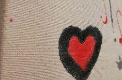 Miłość w powietrzu 2 - abstrakcja zakochanych