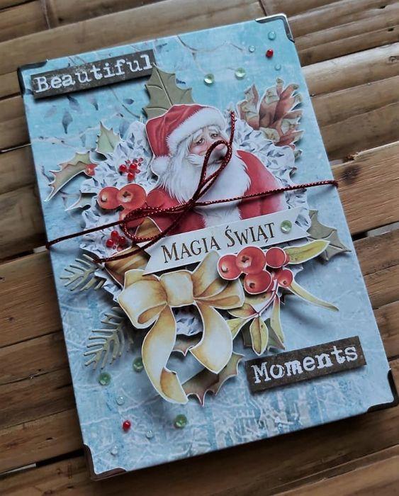 Album harmonijkowy ze św.Mikołajem