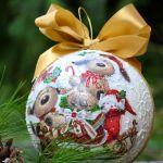 Bombka ze zdjęciem -prosto z serca - świąteczne zwierzęta