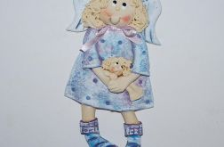 Zosia lalkę tuli - anioł