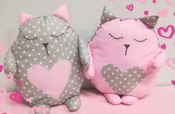 Poduszka-przytulanka kotek