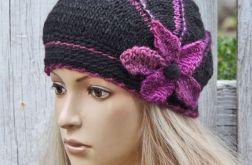 czapka Poppy- Czarna
