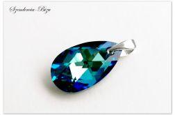 Zawieszka Swarovski Pear Shaped Bermuda Blue