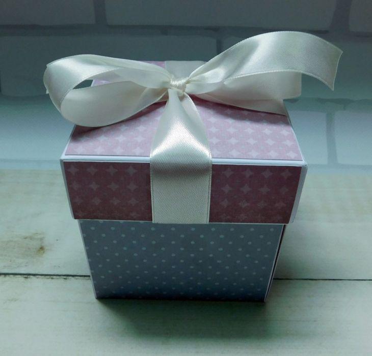 Kartka exploding box na ślub
