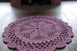 Dywan Dace różowy 100 cm