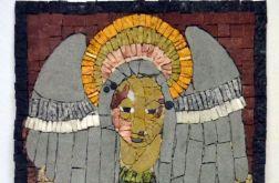 Mozaika ścienna - ANIOŁ